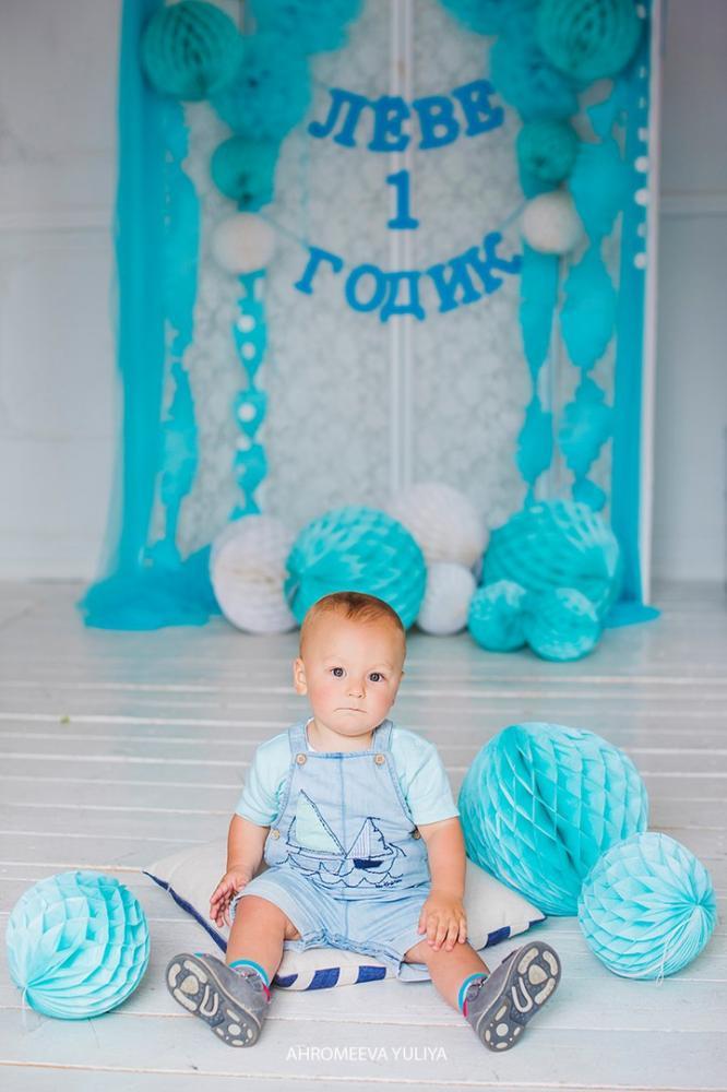 Фотозона на 1 годик мальчику своими руками